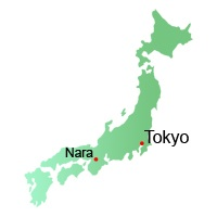 Nara Attractions, photo's, Map, Japan