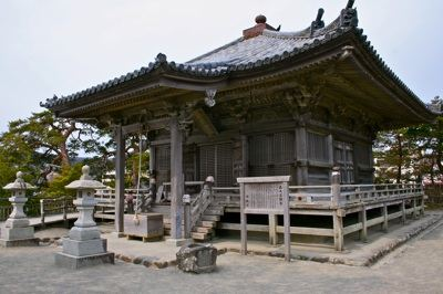 One of several temples along the shores of Matsushima bay